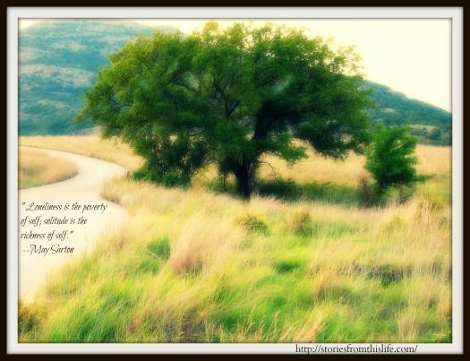 May Sarton on Solitude